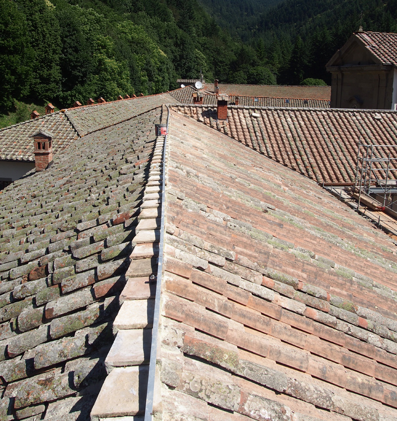 sistema anticaduta edificio storico